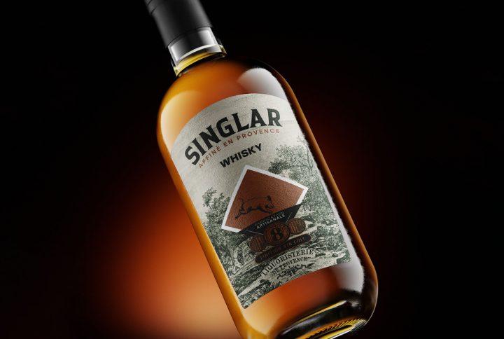 Etiquette Singlar Whisky